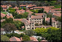 Campus seen from Hoover Tower. Stanford University, California, USA