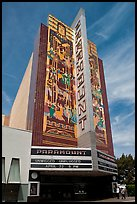 Paramount Theater. Oakland, California, USA ( color)