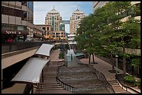 City center shopping mall, downtown. Oakland, California, USA