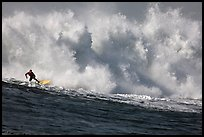 Mavericks big wave surfing. Half Moon Bay, California, USA ( color)