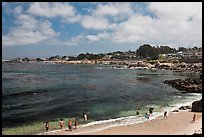 Lovers Point beach. Pacific Grove, California, USA ( color)