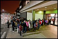 Line outside store on Black Friday. San Jose, California, USA