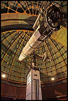 Lick Refractor (third-largest refracting telescope in the world). San Jose, California, USA