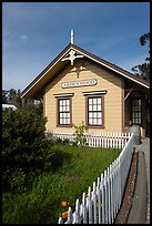 Historic building, Ardenwood farm, Fremont. California, USA (color)