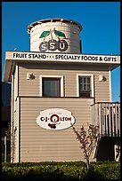 Historic fruit stand, Sunnyvale. California, USA ( color)