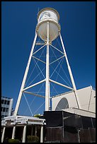 Water tower, Paramount Pictures lot. Hollywood, Los Angeles, California, USA ( color)