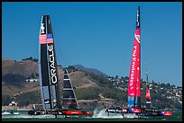 Pictures of SF 34th America's Cup
