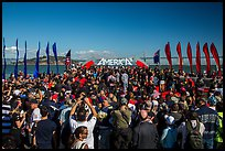 Podium, America's Cup Park. San Francisco, California, USA (color)