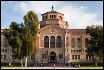 Powell Library, University of California at Los Angeles, Westwood. Los Angeles, California, USA ( color)