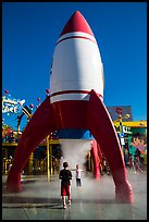 Playground, Universal Studios. Universal City, Los Angeles, California, USA ( color)