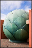 Giant Artichoke, Castroville. California, USA ( color)