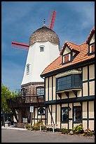 Windmill. Solvang, California, USA ( color)
