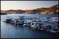 Marina, Lake Mcswain. California, USA ( color)