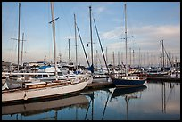 Yachts, Moss Landing. California, USA ( color)
