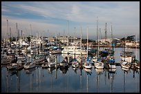 Marina, Moss Landing. California, USA ( color)