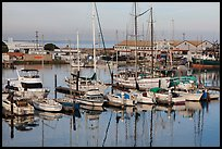 Moss Landing Marina. California, USA ( color)