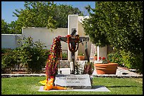 Grave of Cesar Chavez, Cesar Chavez National Monument, Keene. California, USA ( color)