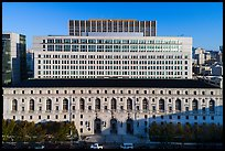 Aerial view of California State Building. San Francisco, California, USA ( color)