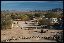 Art installations and dwellings, Slab City. Nyland, California, USA ( color)