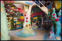 Inside Salvation Mountain. Nyland, California, USA ( color)