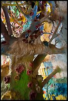 Artificial tree branches inside Salvation Mountain. Nyland, California, USA ( color)