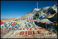 Salvation Mountain. Nyland, California, USA ( color)