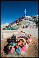 Leonard Knight's folk art Salvation Mountain. Nyland, California, USA ( color)