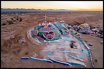 Pictures of Salvation Mountain