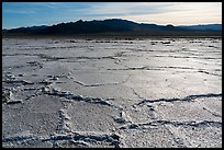 Salt flats near Amboy. California, USA ( color)