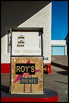 Roys gas pump, Amboy. California, USA ( color)