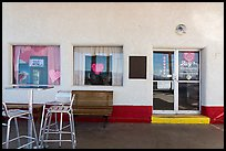 Roys gas station, Amboy. California, USA ( color)