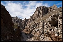 Conglomerate rock canyon and cliffs, Afton Canyon. Mojave Trails National Monument, California, USA ( )