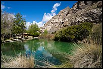 Trout Pond, Whitewater Preserve. Sand to Snow National Monument, California, USA ( color)