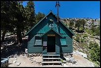 San Antonio ski hut. San Gabriel Mountains National Monument, California, USA ( )