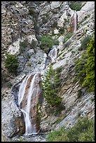 San Antonio Falls. San Gabriel Mountains National Monument, California, USA ( )