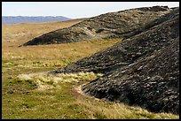 Ridges of Painted Rock. Carrizo Plain National Monument, California, USA ( )