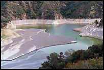 Banks, Moris Reservoir. San Gabriel Mountains National Monument, California, USA ( )