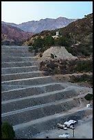 San Gabriel Dam and Cucamonga Peak. San Gabriel Mountains National Monument, California, USA ( )