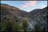 East Fork of the San Gabriel River. San Gabriel Mountains National Monument, California, USA ( )