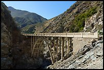 Bridge to Nowhere. San Gabriel Mountains National Monument, California, USA ( )
