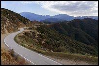 Glendora Ridge Road. San Gabriel Mountains National Monument, California, USA ( )