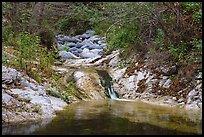 Arroyo Seco cascade. San Gabriel Mountains National Monument, California, USA ( )