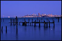 City  seen from Sausalito. San Francisco, California, USA ( color)