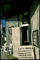 Mexican Cafe. Redwood City,  California, USA (color)