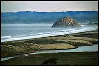 Morro Rock. Morro Bay, USA (color)