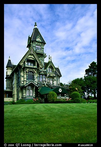 Victorian Carson Mansion, Eureka. California, USA
