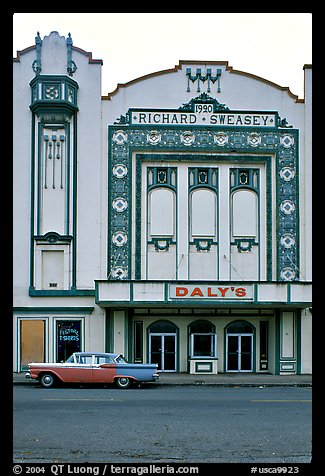 Former Loew State Theatre that became Daleys Department Store, Eureka. California, USA