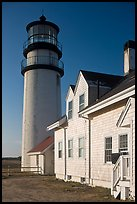 Highland Light, early morning, Cape Cod National Seashore. Cape Cod, Massachussets, USA
