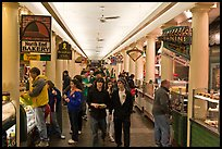 Food hall, Quincy Market Colonnade. Boston, Massachussets, USA