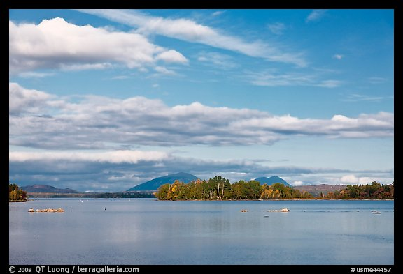 Deep Cove, Moosehead Lake. Maine, USA (color)